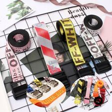 Off White Belt (Yellow, White, Black,Silver,Red) 130-200cm