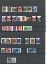 Laibach 1944, verschiedene Sammlungen **/*, postfrisch ** und ungebraucht *