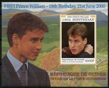 GUINEA PRINCE WILLIAM 18th BIRTHDAY SOUVENIR SHEET IMPERFORATE MINT NH