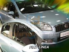 Front Wind Deflectors //Rain Guards Gray for FIAT BRAVA-MAREA  1995--2002 4DOORS