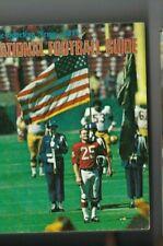 1971 National Football League Guide St. Louis Cardinals Washington Redskins