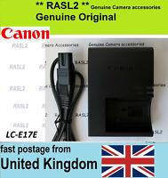 Genuine Canon Charger LC-E17E fit EOS 250D 200D 77D 800D 760D 750D M3 M5 M6 SL2
