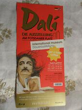 * * salvador dali * * - exposición internamente. Museo Berlin-Flyer + Free Coffee