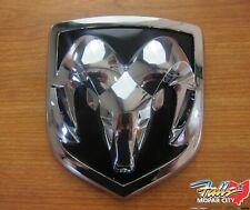2006-2012 Dodge Ram Chrome Plated Front Grille Ram Head Emblem New Mopar OEM
