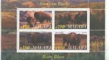 New ListingMalawi 2010 M/S American Bisons Animals Fauna Nature Cows Ox Mammal Stamps Mnh