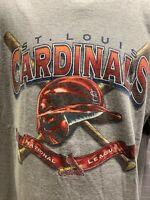 St Louis CARDINALS Baseball MLB 2004 T-Shirt Size XL