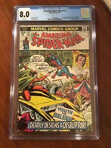 AMAZING SPIDER-MAN #117 CGC 8.0 (1973) The Disrupter