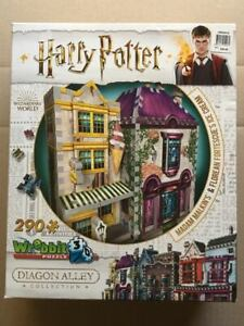 ~HARRY POTTER~Madam Malkin's & Florean Fortescue's Ice Cream~Wrebbit 3D Puzzle~
