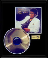 MICHAEL JACKSON GOLD RECORD  DISC THRILLER  ALBUM RARE ORIGINAL LP FRAME