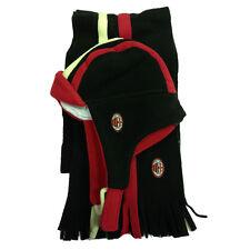 MILAN set due pezzi sciarpa+ cappello in morbido e caldo pile da bambino 645f4fe13123