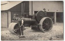 Aveling & Porter Steam Roller No 2636 In Action, County Reg No 378 RP Postcard