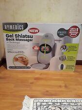 Homedics Gel shiatsu back massager with Technogel. GSM 400H GB