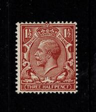 Error Mistake George V 1 1/2 Pence Pecf Variety Sg 0364a Cat £175.00 Um