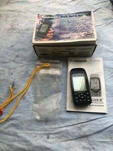 Lowrance Ifinder 12 Channel Receiver Handheld GPS Tested and working