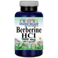 Berberine HCI 900mg 180caps (Berberis Aristata) by Vitamins Because