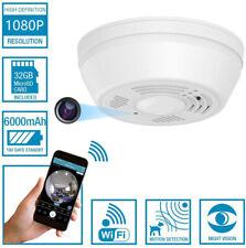 Dummy Smoke Detector WiFi Motion Detection Hidden Surveillance Camera NuCam