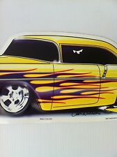 """Van Nuys Blvd"" 1956 Chevy New Embossed METAL ""Garage Decor"" Sign"