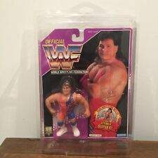 WWF/WWE Scott Steiner Vintage Hasbro Action Figure 1994 Series 9 MOC with case
