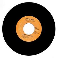 """GARLAND GREEN Let Me Be Your Pacifier NEW MODERN 70s SOUL 45 (EXPANSION 7"""" Vinyl"""
