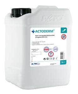 Actoderm® 5L Haut- u.Handantiseptikum,Händedesinfektion, 2-Propanol 70% alkohol