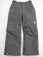 COLUMBIA KIDS YOUTH BLACK CONVERT SKI SNOWBOARD PANTS 10 /12 MINT CONDITION