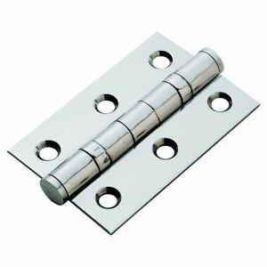 Carlisle brass 76 x 51 Ball bearing hinge pair satin stainless steel HIN1322SSS