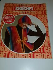 Vintage (3) Booklets on Crocheting Projects