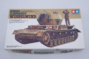 Tamiya 35233 Flakpanzer IV Wirbelwind + Detail Set Vintage Modélisme