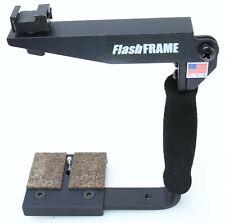 Flash Frame Quick Flip SLR Camera Bracket  MADE IN USA  Metal 388623
