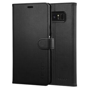 Spigen®Samsung Galaxy Note 8 [Wallet S] Leather Wallet Card Holder Case Cover