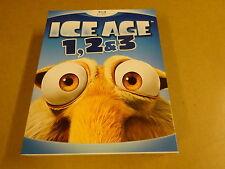 3-DISC BLU-RAY BOX / ICE AGE 1,2 & 3