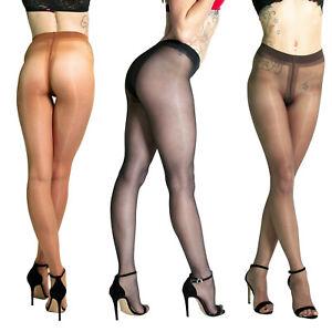 Cecilia de Rafael Sevilla 15 | Glossy Classic Sheer Pantyhose Tights Plus Sizes