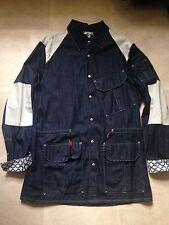 Vivienne Westwood mens Size XL  dark denim  safari combat shirt /jacket squiggle