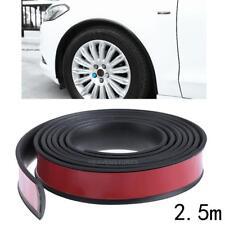 2.5m Car  Arch Trim Fender Flare Wheel Eyebrow Protector Sticker Rubber Strip