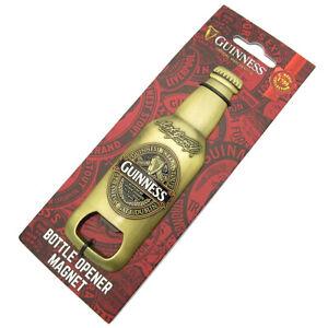 Guinness Ruby Red 1759 Collection Bottle Design Bottle Opener Fridge Magnet 5615