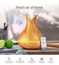 Difusor de aceite esencial Aroma kbaybo 400ml Ultrasónico Humidificador De Aire Con Madera