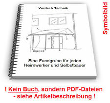 Vordach selbst bauen - Haus Gebäude Halterung Technik Patente Patentschriften