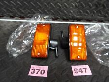 VESPA PIAGGIO PX PX125 PX150 PX200 Pair Front Right Left Amber Indicator Flasher