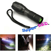 Zoomable T6 5 Modes LED Police Flashlight Tactical Torch Camping Waterproof