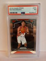 2019-20 Panini Prizm Rui Hachimura Washington Wizards Rookie NBA Card #255 PSA 7