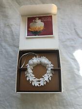 1996 Margaret Furlong Oak And Acorn Wreath In Original Box - Free Shipping!
