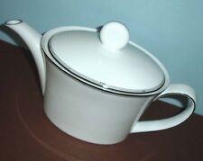 Royal Doulton Silver Sonnet Teapot 38 oz. Platinum Trim New