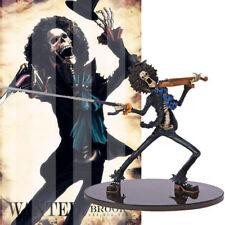 Collections Anime One Piece Figure Jouets Burukku Brook Figurines Statues 19cm