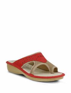 Flexus by Spring Step Women's Pascalle Sandal, Red ( EU 42 / US 10.5-11 )