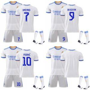 Real Madrid Heim Nr. 7 Hazard Nr. 9 Benzema Nr. 10 Modric Trikot