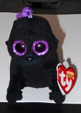 Ty Beanie Baby ~ GEORGE the Gorilla Key Clip Size (3.5 Inch) NEW - IN HAND
