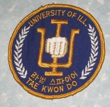 University of Illinois Tae Kwon Do Patch