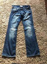 "ladies Style Clash Energie Jeans waist 31"" leg 34"" blue cotton Mix used (1)"