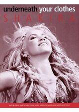 Partition pour guitare piano voix - Shakira - Underneath Your Clothes