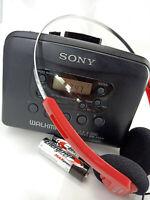 Sony Walkman WM-FX211 AM FM Tuner Radio Personal Portable Cassette Tape Player